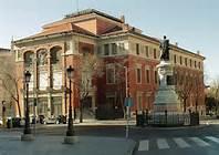 Sede de la Real Academia de la Lengua Española en Madrid.