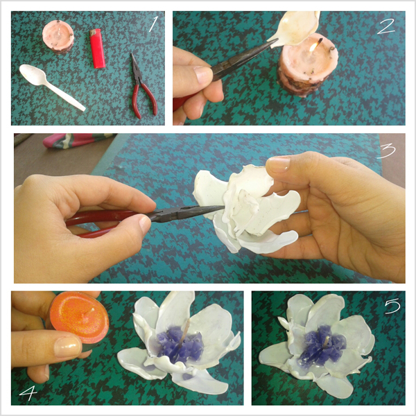 DIY - 2 Ideas with plastic spoons