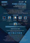 Con presencia uniqueña Foro Virtual Conferencia Mundial de Educación Superior de la UNESCO